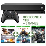 Xbox One X 1TB Console + 3 Games - Packshot 1