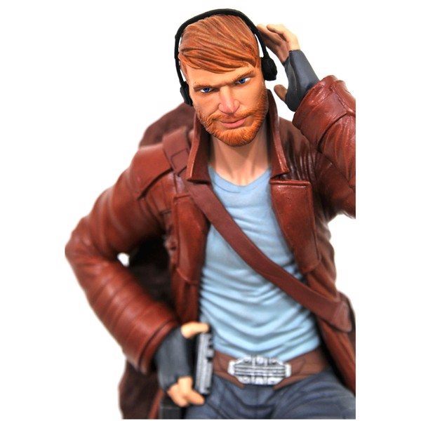 "Marvel - Guardians of the Galaxy - Star-Lord Comic Marvel Gallery 9"" PVC Diorama Statue - Packshot 6"