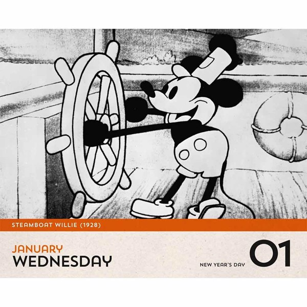 Disney - Classics & Disney-Pixar 2020 Everyday Desk Calendar - Packshot 3