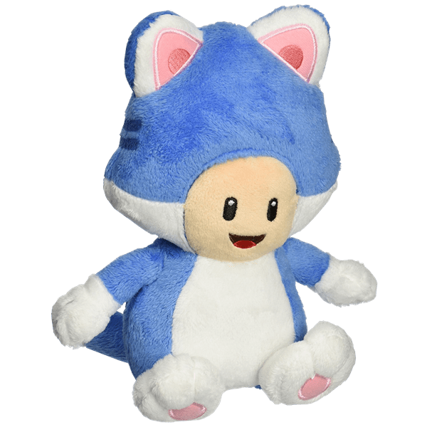 Nintendo - Toad Cat Plush with Magnetic Hands 18cm - Packshot 1