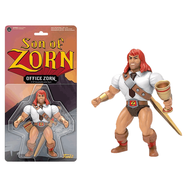 "Son of Zorn - Business Zorn 6"" Action Figure - Packshot 1"