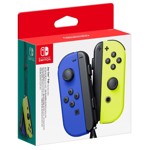 Nintendo Switch Joy-Con Blue and Neon Yellow Controller Set - Packshot 1