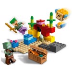 Minecraft - LEGO The Coral Reef - Packshot 2