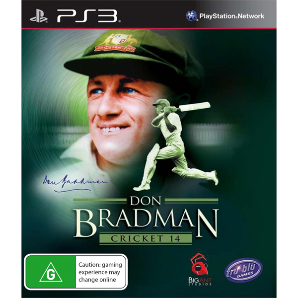 Don Bradman Cricket 14 - Packshot 1