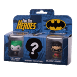 DC Comics - Batman - The Joker, Robin and Mystery Pint Size Heroes 3-Pack - Packshot 1