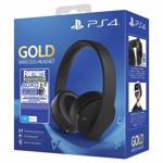 Sony PlayStation 4 Gold 7.1 Fortnite Neo Versa Wireless Headset  - Packshot 1