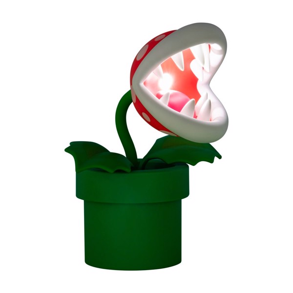 Nintendo - Super Mario - Piranha Plant Posable Desk Lamp - Packshot 2