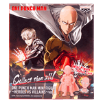 One Punch Man - Heroes Vs Villains Mini Figure Blind Box (Single Box) - Packshot 1