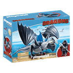 How to Train Your Dragon - Drago and Thunderclaw PlayMobil Construction Set - Packshot 3