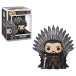 Game of Thrones - Jon Snow on Iron Throne Pop! Vinyl Figure - Packshot 1