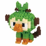 Pokemon - Grookey Nanoblocks Figure - Packshot 1