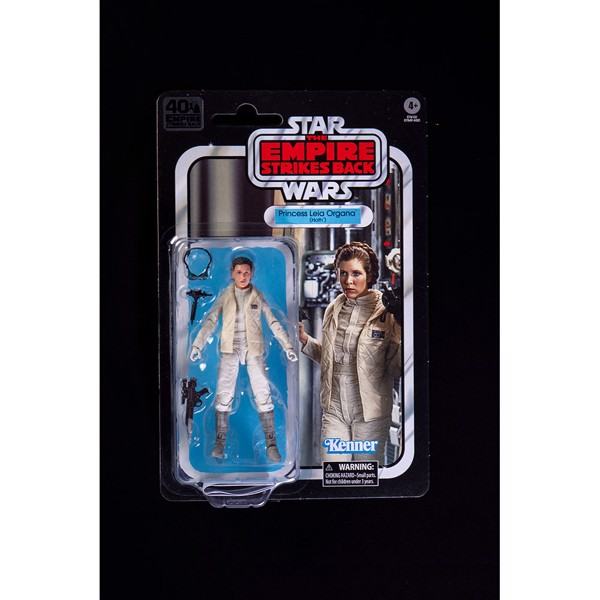"Star Wars - Episode V - Black Series 40th Anniversary Princess Leia 6"" Action Figure - Packshot 3"
