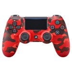 New PlayStation 4 DualShock 4 Wireless Controller - Red Camo - Packshot 1