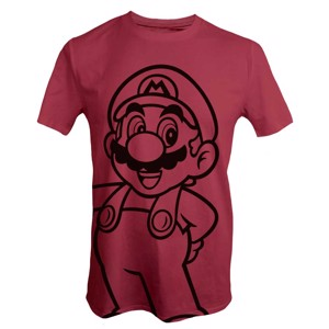 Nintendo - Super Mario Bros - Mario Red T-Shirt - Clothing