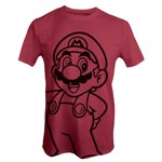 Nintendo - Super Mario Bros - Mario Red T-Shirt - Packshot 1
