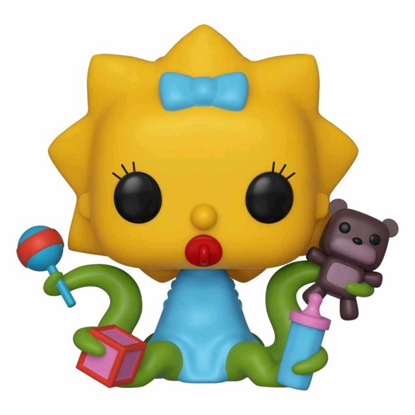 Simpsons - Treehouse of Horror Maggie Alien Pop! Vinyl Figure - Packshot 1