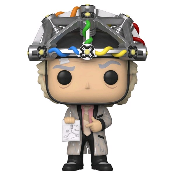 Back to the Future - Doc with Mind-Reading Helmet Pop! Vinyl Figure - Packshot 1