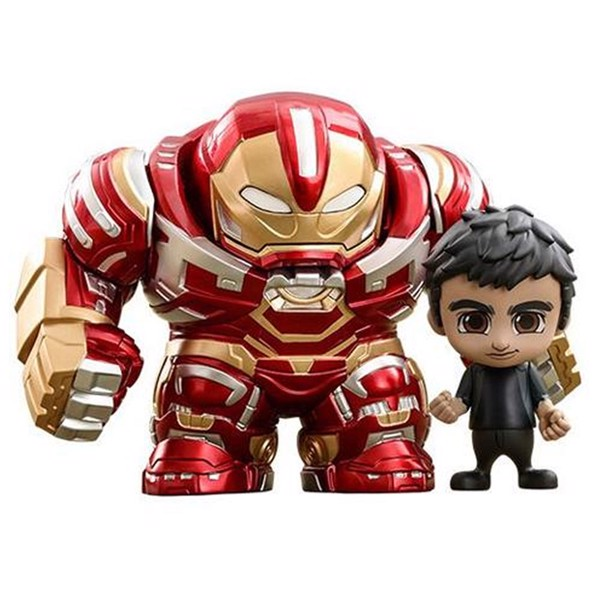 Marvel - Avengers: Infinity War - Bruce Banner and Hulkbuster Cosbaby Hot Toys Figure - Packshot 1