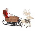 Disney - The Nightmare Before Christmas - Sleigh and Reindeer Keepsake Hanging Decoration - Packshot 1