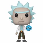 Rick & Morty - Rick with Crystal Skull Pop! Vinyl Figure - Packshot 1