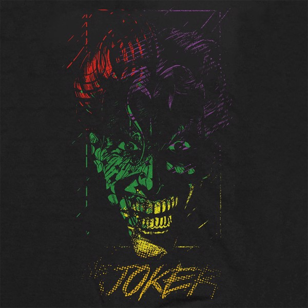 DC Comics -  Joker Multicolour Face T-Shirt - XL - Packshot 2