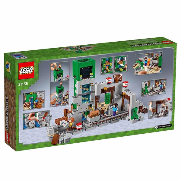 Minecraft - LEGO The Creeper Mine - Packshot 6