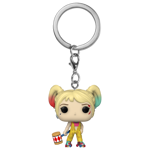 DC Comics - Birds of Prey - Harley Boobytrap Pocket Pop! Keychain - Packshot 1