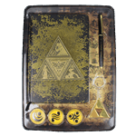 The Legend of Zelda - Triforce Stationery Set - Packshot 2
