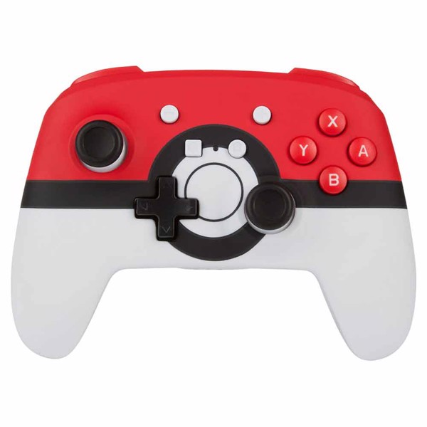 Nintendo Switch PowerA Enhanced Wireless Controller - Pokeball - Packshot 1