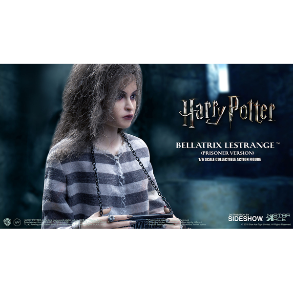 Harry Potter - Bellatrix Lestrange Prisoner Figure - Packshot 3