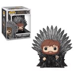 Game of Thrones - Tyrion Lannister on Iron Throne Pop! Vinyl Figure - Packshot 1