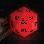Dungeons & Dragons - Colour Changing D20 Lamp - Packshot 2