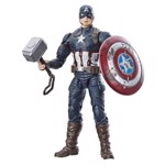 "Marvel - Avengers: Endgame - Captain America Hasbro Marvel Legends 6"" Action Figure - Packshot 1"