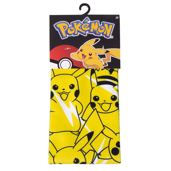 Pokemon - Pikachu Bolt Yellow Socks - Packshot 1