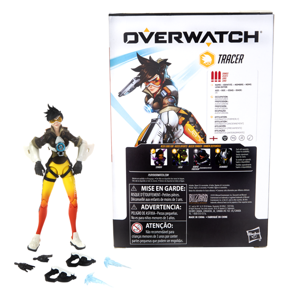"Overwatch - Tracer 6"" Ultimates Series Collectible Action Figure - Packshot 3"