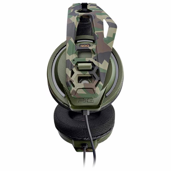 Plantronics RIG 400 HX Forest Camo Headset - Packshot 2