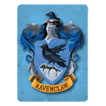 Harry Potter - Ravenclaw Metal Magnet - Packshot 1
