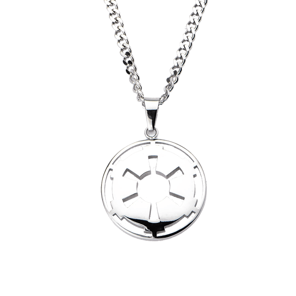 Star Wars - Imperial Crest Stainless Steel Pendant Necklace - Packshot 1