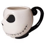 Nightmare Before Christmas - Smiling Jack Skellington's Head Mug - Packshot 2