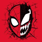 Marvel - Spider-Man/Venom Mask T-Shirt - XS - Packshot 2