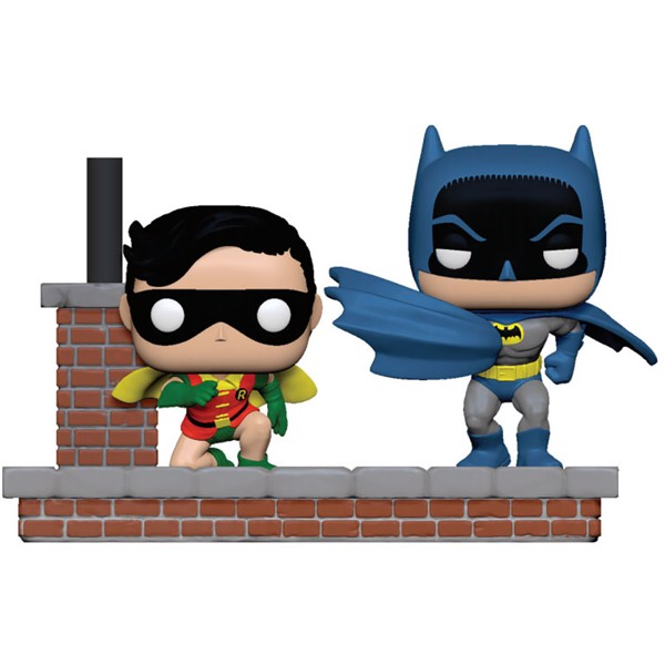 DC Comics - 1966 Look Batman & Robin Comic Moments Pop! Vinyl Figure - Packshot 1