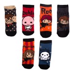 Harry Potter - Chibi Ankle 6 Pack Socks - Packshot 1