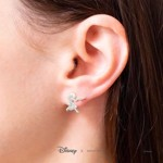 Disney - Moana & Pua Short Story Silver Stud Earrings - Packshot 3