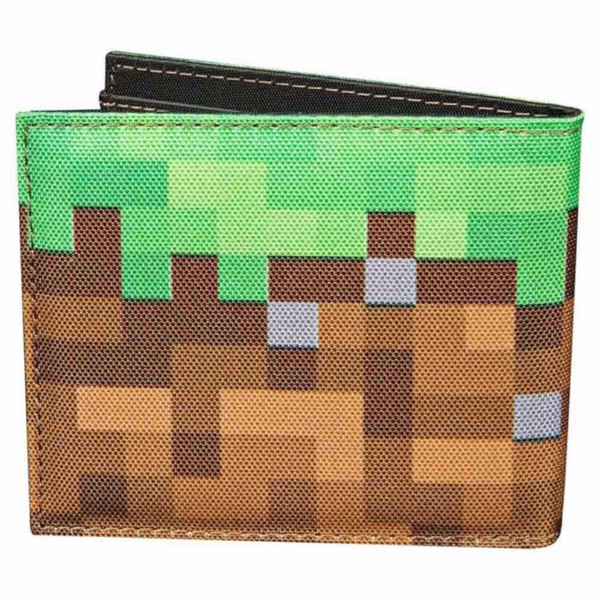 Minecraft - Grass Block Bi-fold Wallet - Packshot 2