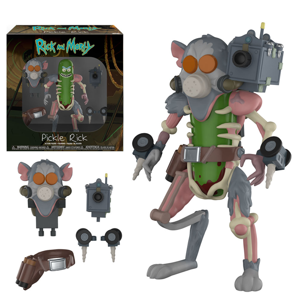 Rick and Morty - Pickle Rick Action Figure - Packshot 1