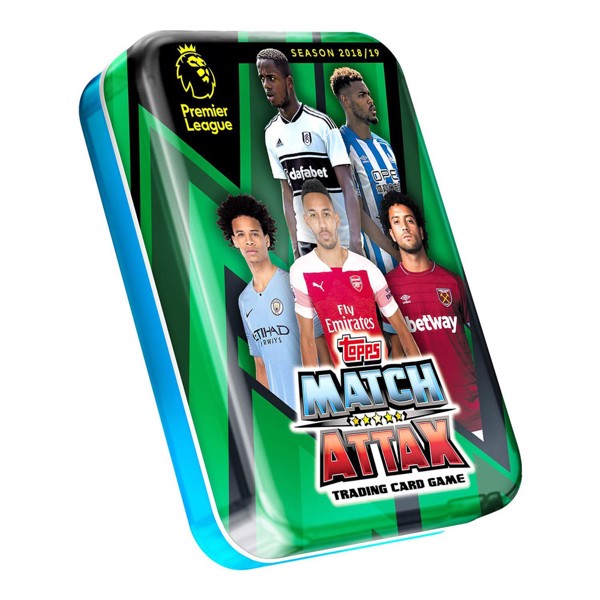 Match Attax 2018/19 Mini Tin Trading Card Booster Pack (Assorted) - Packshot 2