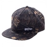 Harry Potter - Marauders Map All Over Pattern Cap - Packshot 2