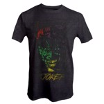 DC Comics -  Joker Multicolour Face T-Shirt - XL - Packshot 1