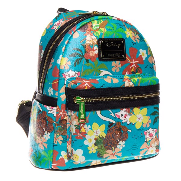 Disney - Moana - Maui and Pua Floral Loungefly Mini Backpack - Packshot 2