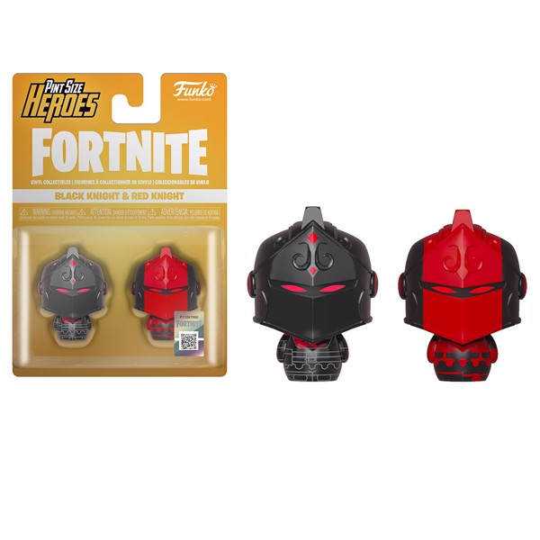 Fortnite - Black Knight & Red Knight Pint-Sized Heroes 2-Pack Figure - Packshot 1